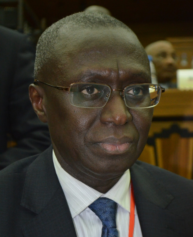 l'Ambassadeur Fodé Seck Représentant permanent du Sénégal auprès des Nations-Unies
