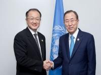 Ban KI MOON et Jim Yong KIM