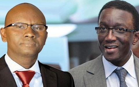 Amadou Ba et Moussa Sy