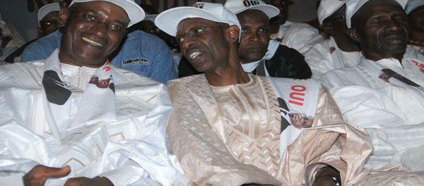 Abdoulaye Daouda Diallo et Thierno Seydou Niane Mboumba