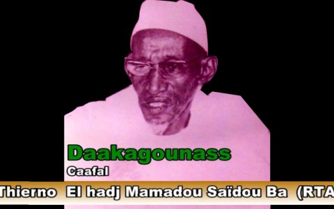 El Hadji Mouhamadou Saidou Ba, fondateur du Daaka de Madina Gounass-la viesenegalaise