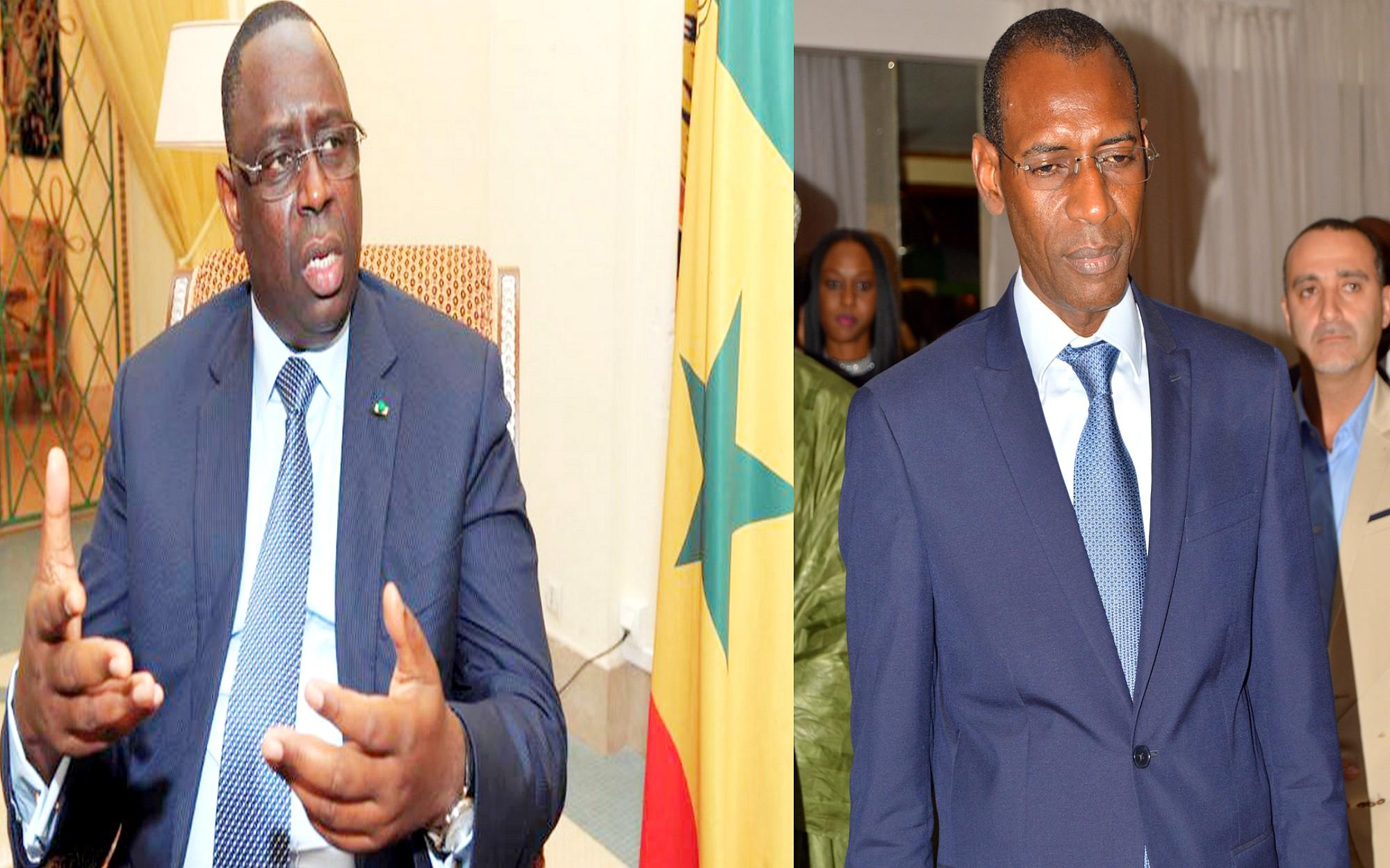 Macky Sall et Abdoulaye Daouda Diallo