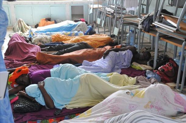 Les ex-travailleurs d'AMA Sénégal entament une nouvelle grève de la faim
