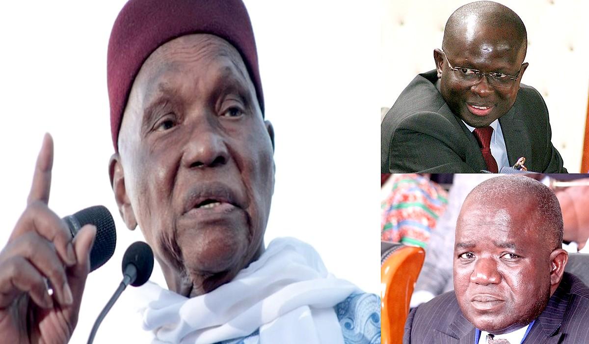 Abdoulaye Wade, Diagne Fada, Omar Sarr
