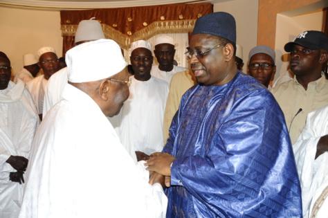 Al Amine et Macky Sall