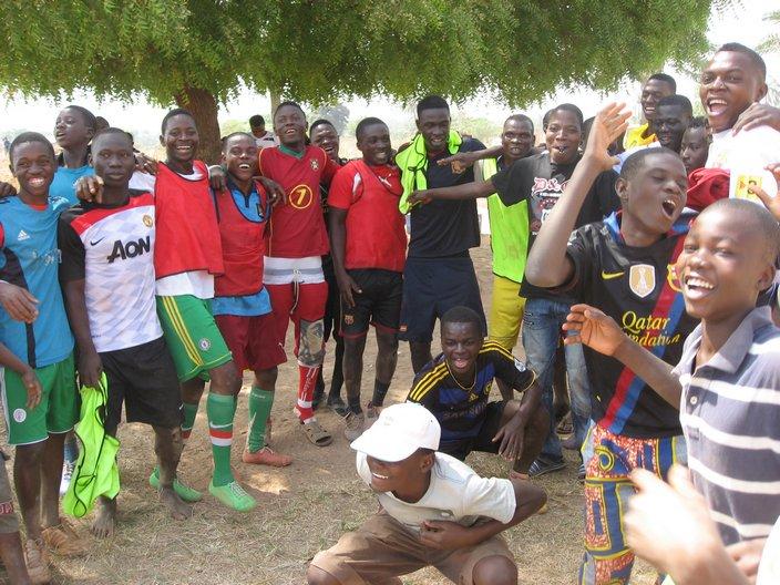Jeunes en Afrique