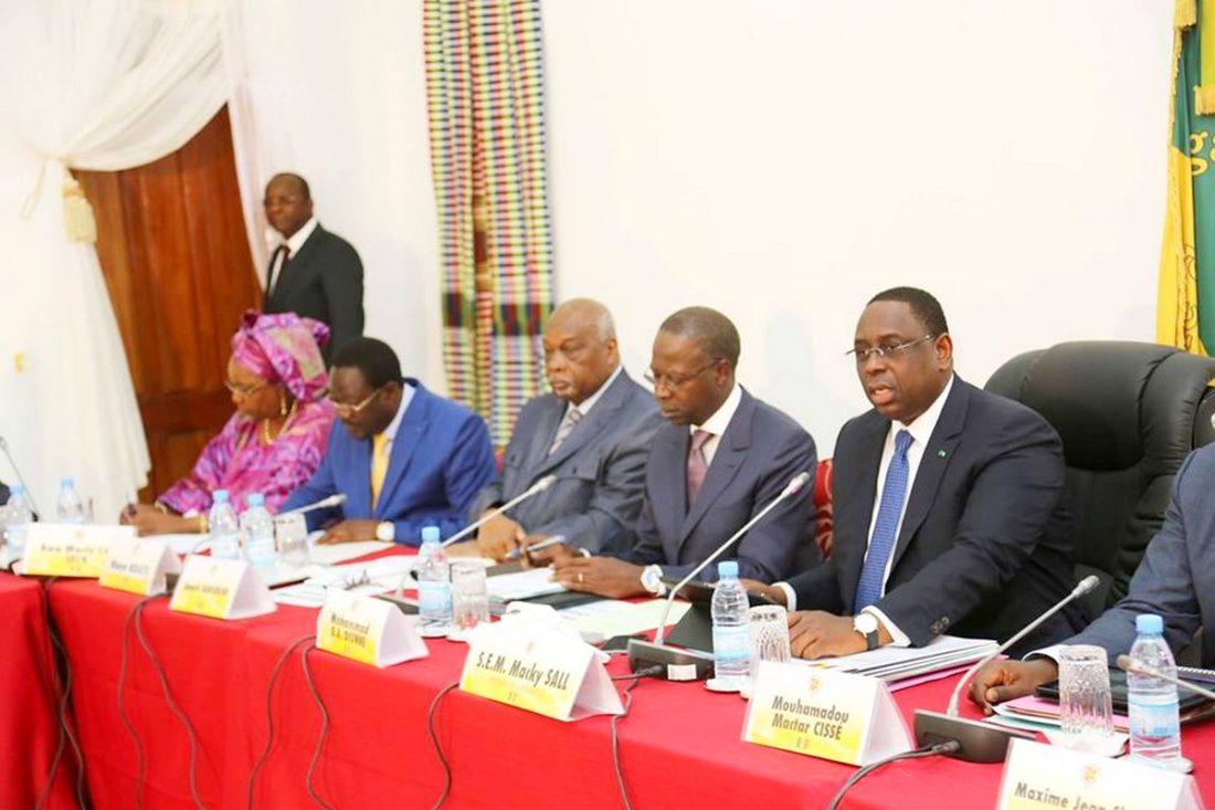 Macky - Conseil des Ministres