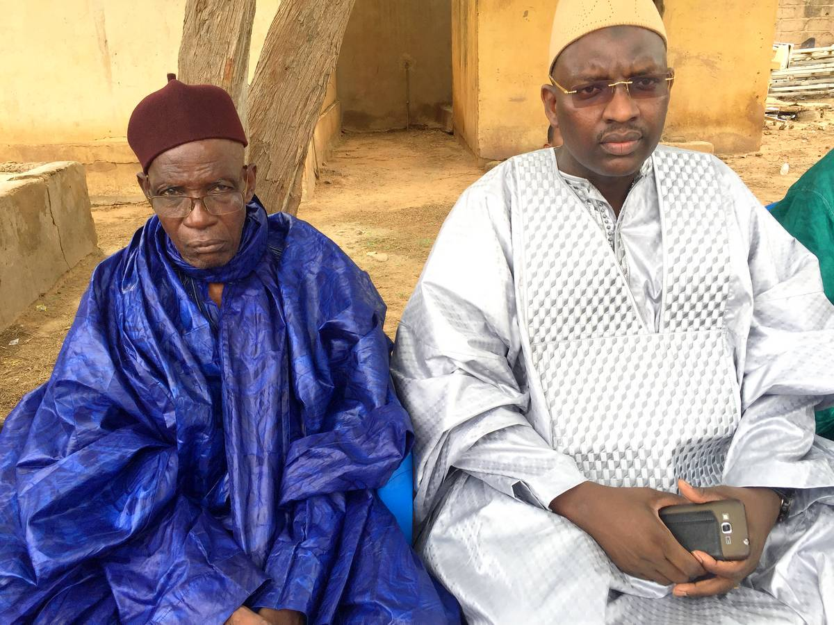 Amadou Cheikh Ly et Mountaga Barry, Chef de Village Doumga Ouro Alpha