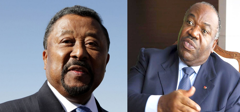 Jean Ping et Ali Bongo Odimba