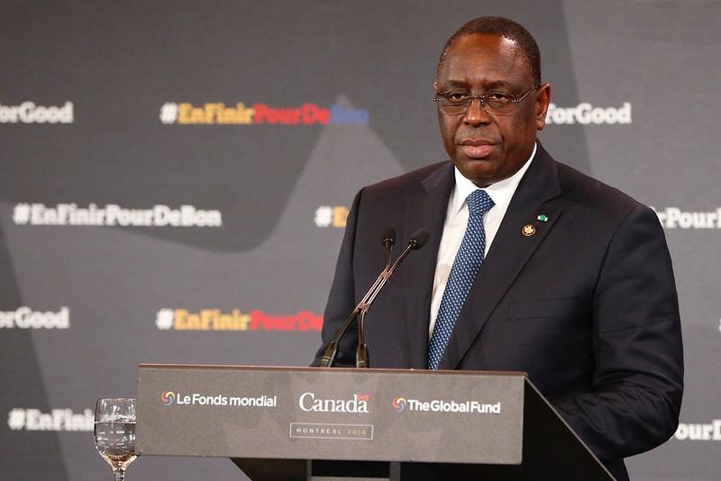 Macky Sall rencontre les Sénégalais vivant au Canada