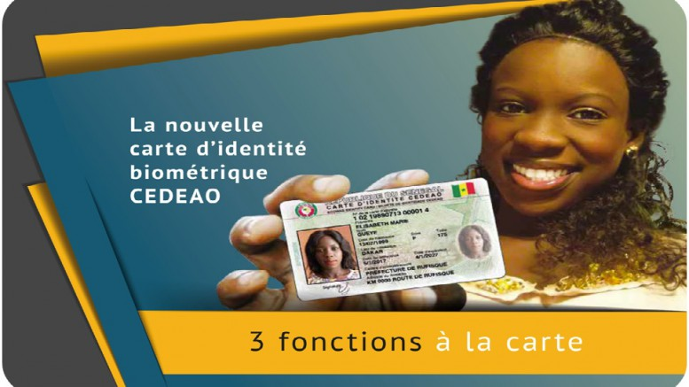 la carte biométrique de la CEDEAO