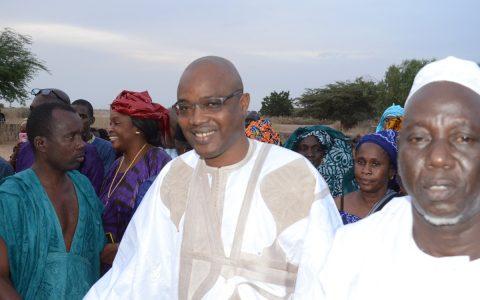 Maire de OGO, Amadou Kane Diallo
