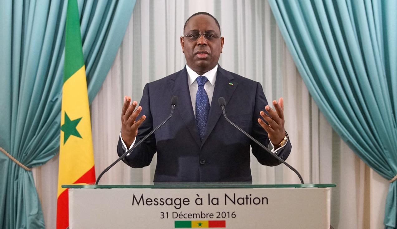 MESSAGE A LA NATION DU PRESIDENT MACKY SALL