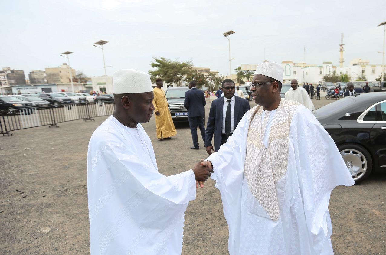 Macky Sall et Aly Ngouille Ndiaye