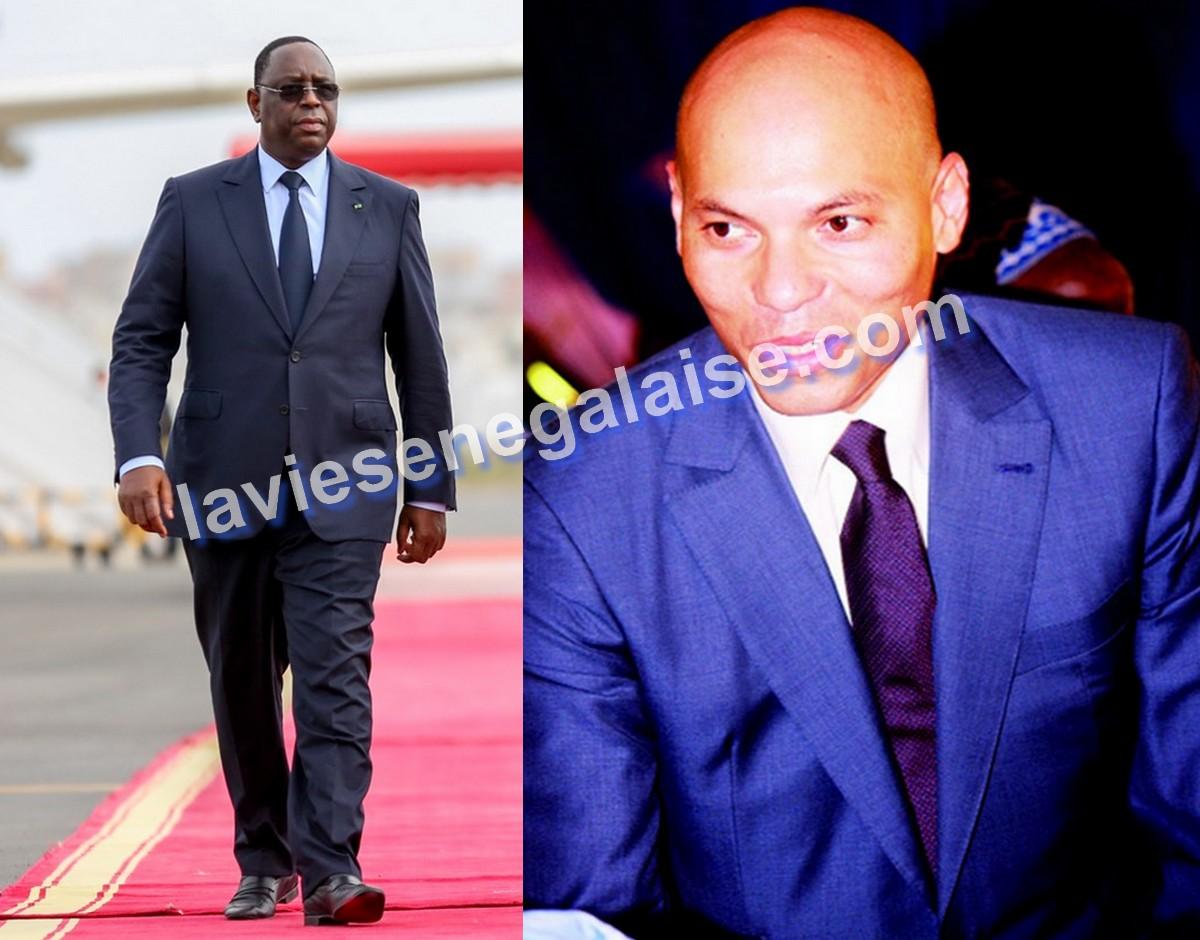 Macky Sall et Karim Wade