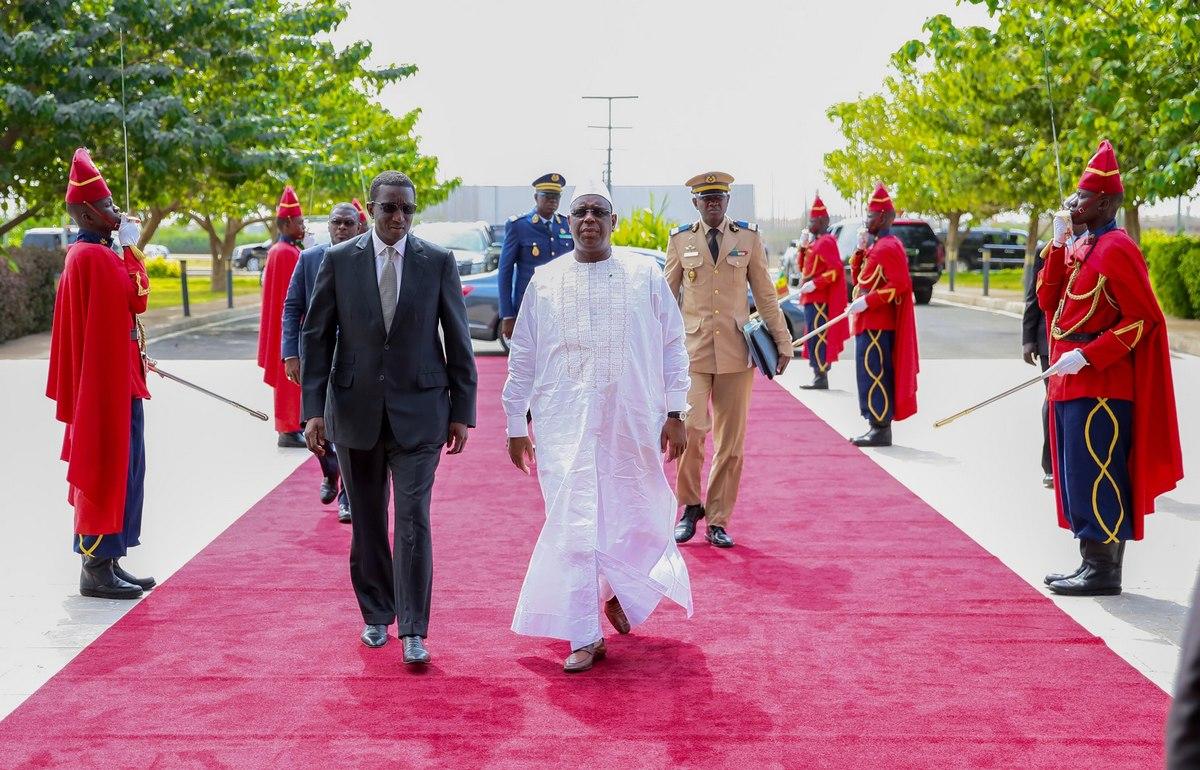 Macky Sall et Amadou Ba