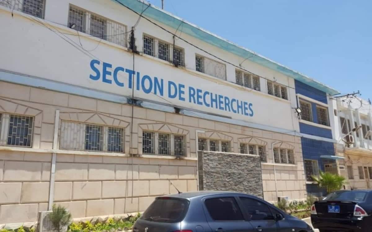 Section de recherches de la Gendarmerie