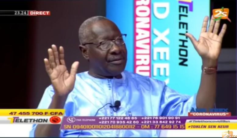 El Hadji Ndiaye PDG de la 2STV sur le Covid19