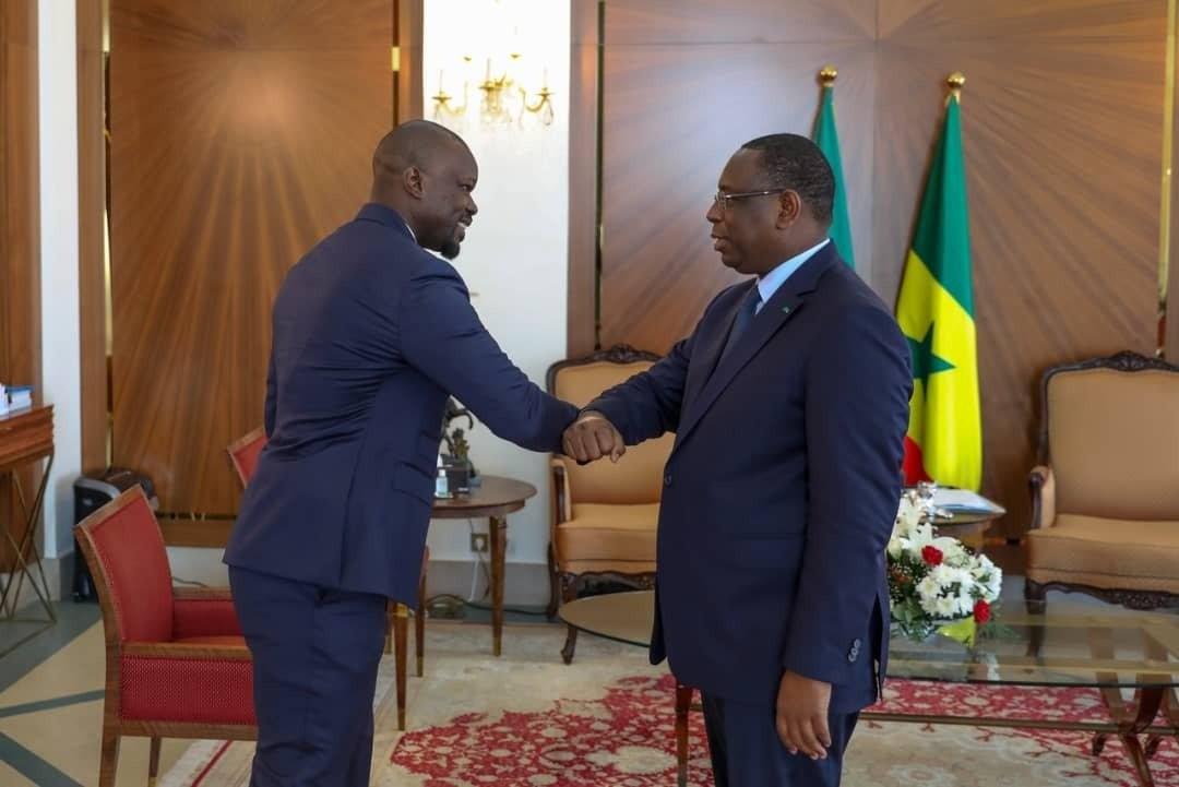Ousmane Sonko et Macky Sall au Palais