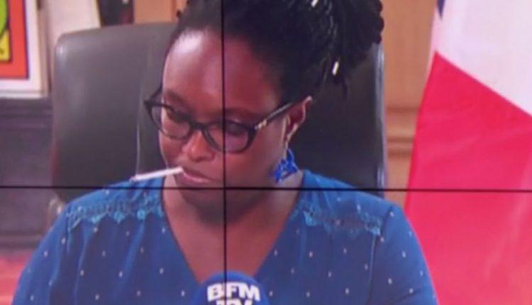 Sibeth Ndiaye surprise en train de fumer en direct sur BFMTV
