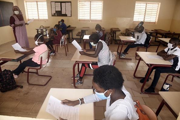 Examen Bac 2020 au Sénégal
