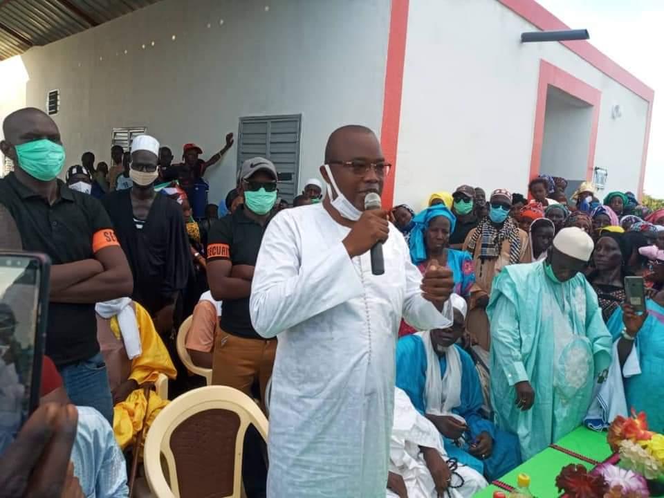 Maire de Ogo Amadou Kane - Bélinaybé