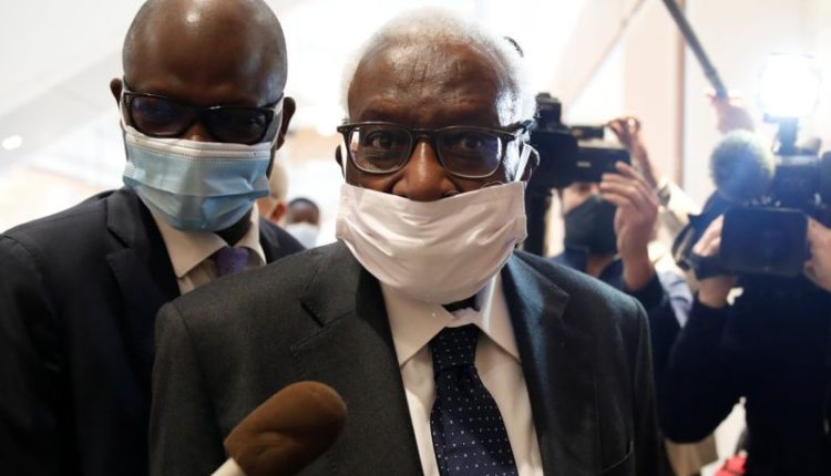 Lamine Diack condamné en prison
