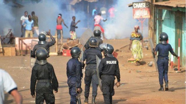 Guinée violence