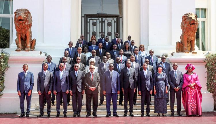 Conseil des Ministres au Palais