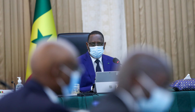 Macky Sall - Conseil des Ministres