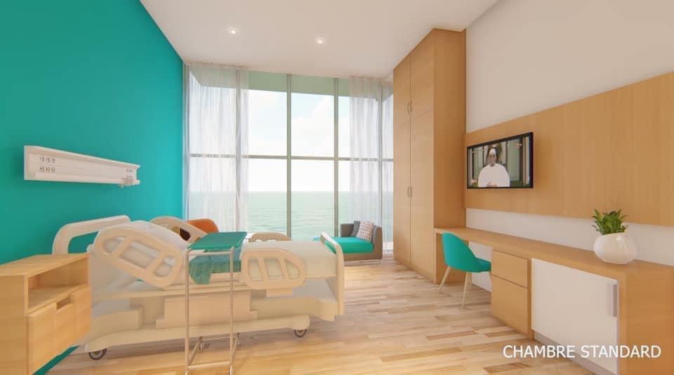 Chambre Polyclinique de l'hôpital principal de Dakar