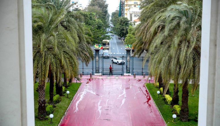 Entrée Palais du Sénégal