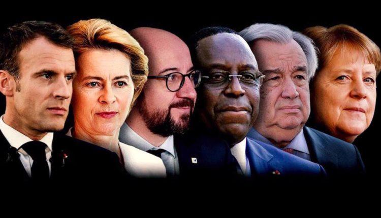 Tribune de Merkel, Macron, Macky Sall, Onu et Ue