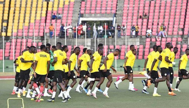 Congo vs Sénégal - onze de départ de Aliou Cissé