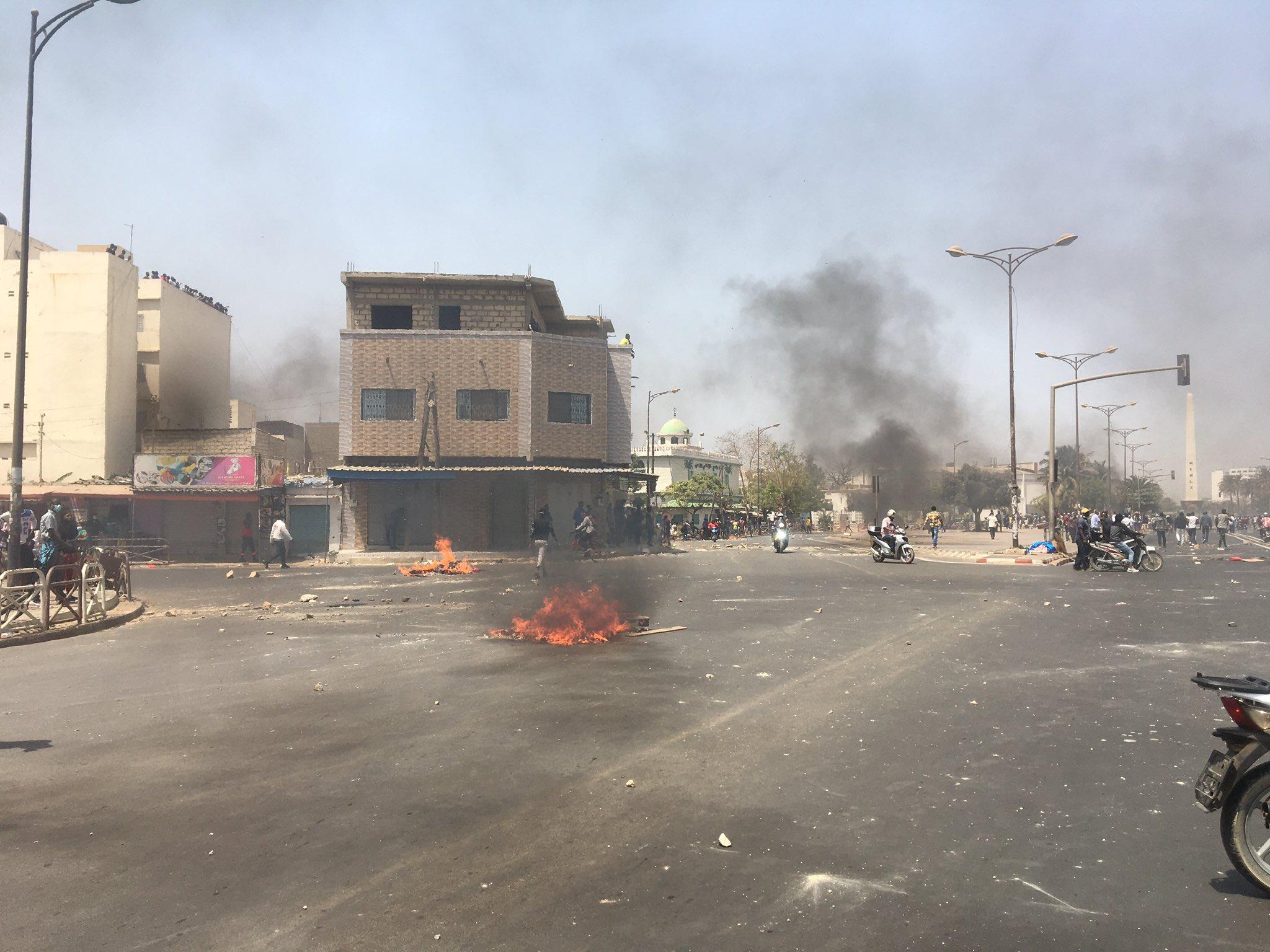 Des Heurts à Dakar après l'arrestation d'Ousmane