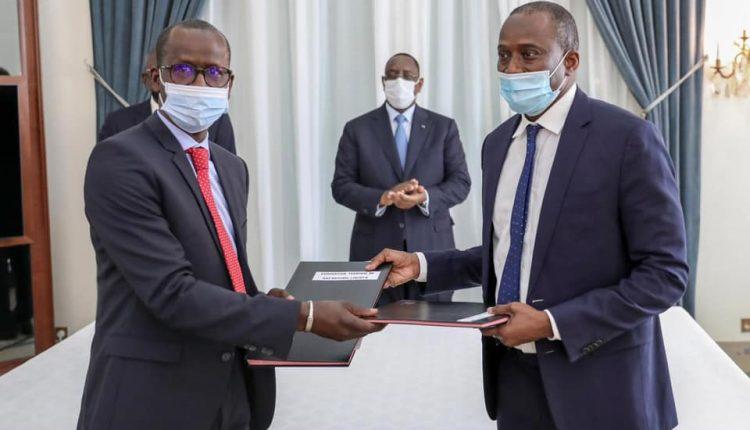 Dg Port de Dakar - signature de convention