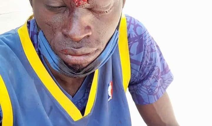 Manifestations au Sénégal - Personne blésée