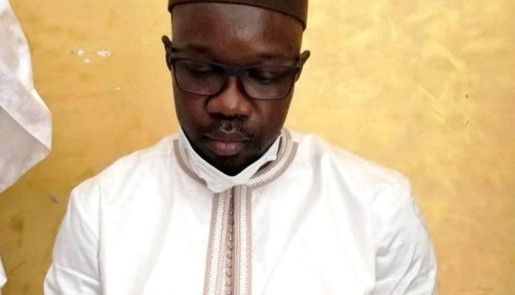 Ousmane Sonko passe sa première nuit en prison