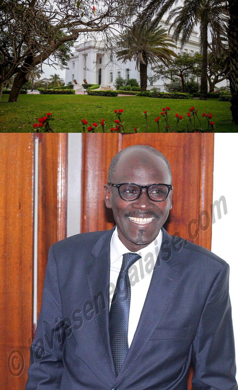 Seydou Guèye - Ministre-conseiller et coordonnateur de la Communication du palais de la République