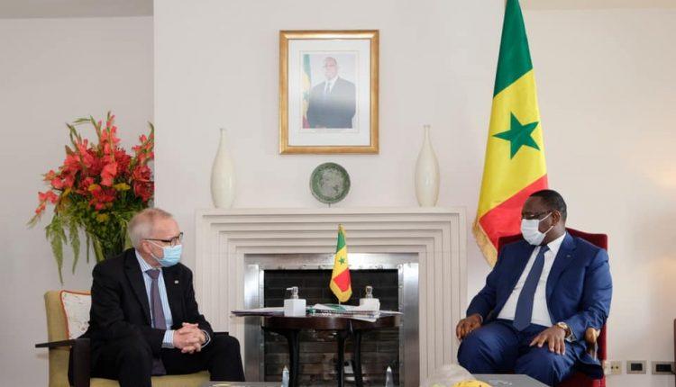 Macky Sall a rencontré Dr Werner Hoyer, Président de la Banque Européenne d'Investissement