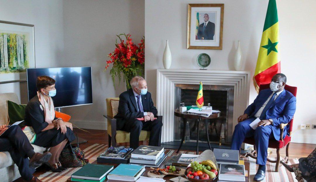 Macky Sall et Dr Werner Hoyer, Président de la Banque Européenne d'Investissement