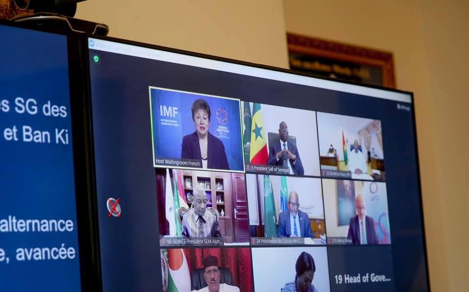 Macky Sall insiste sur la nécessité de relancer l'économie africaine2