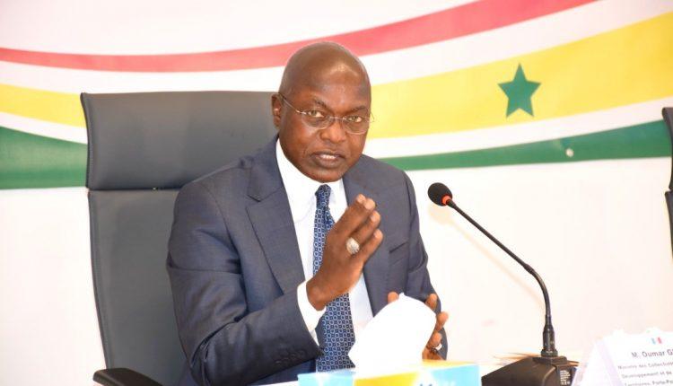 Oumar Gueye - porte-parole du gouvernement du Sénégal