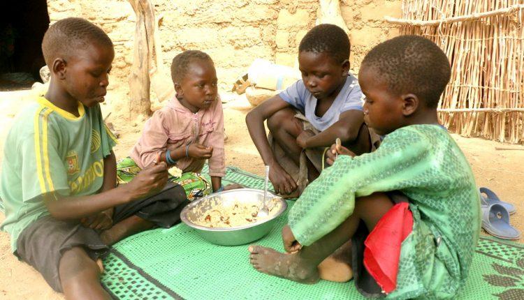 Risque potentiel de famine dans quatre pays
