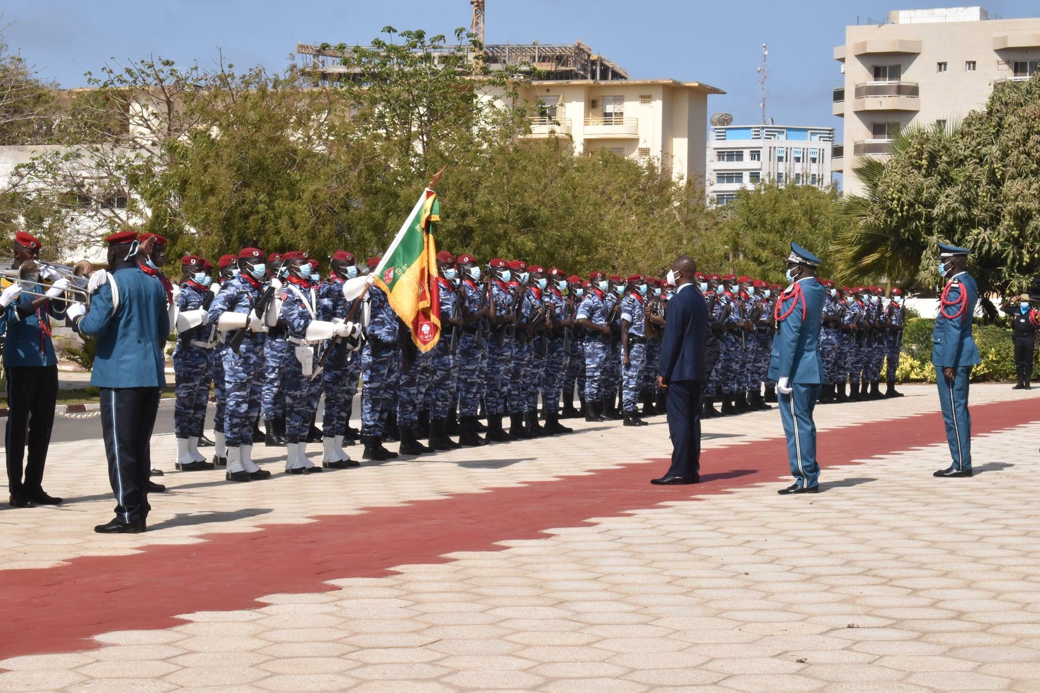 Seydou Bocar YAGUE Directeur Général de la Police nationale (1)
