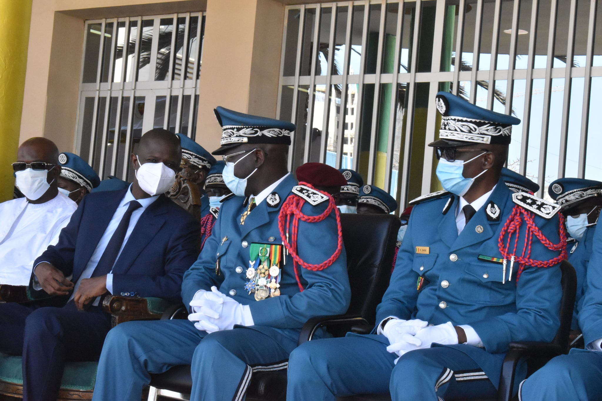 Seydou Bocar YAGUE Directeur Général de la Police nationale (3)