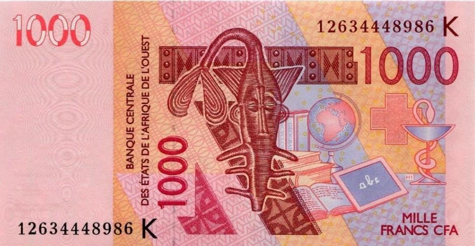 Argent - Billet 1000 francs