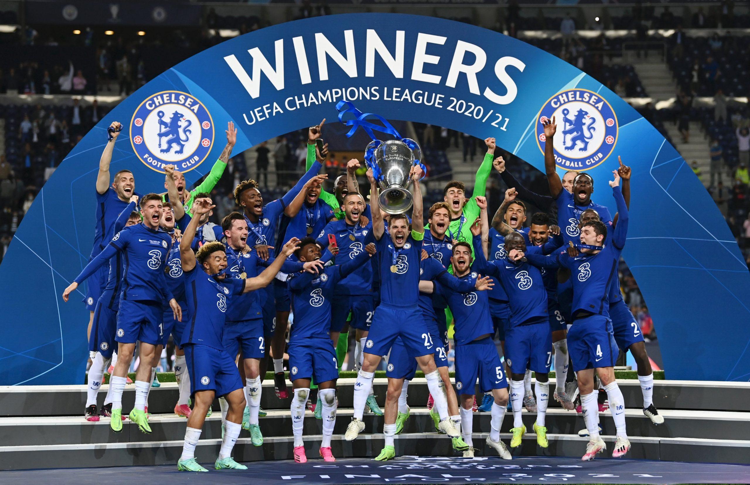 Chelsea - vainqueur de la Ligue des champions