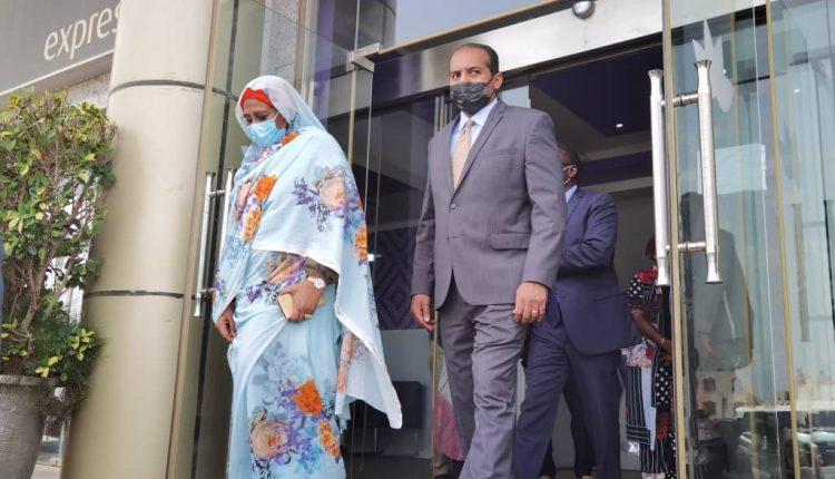 DAKAR - Visite de la Ministre des affaires étrangères du SOUDAN au siège de EXPRESSO Sénégal filiale de SUDATEL (2)