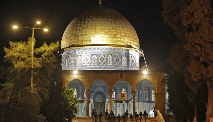 Des affrontements à Jérusalem-Est, sur l'esplanade des Mosquées